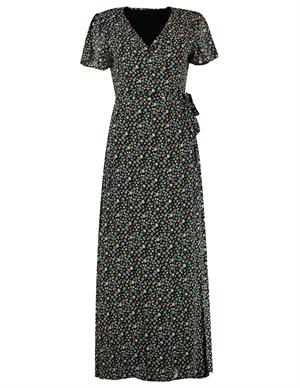 Colourful Rebel Ava Flower Real Wrap Maxi Dress 10400