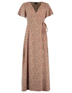 Colourful Rebel AVA Flower Wrap Maxi Dress 10189