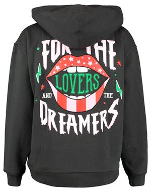 Colourful Rebel Lovers&Dreamers Oversized Hoodie 10026