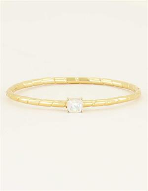 My Jewellery Bangle transparant steen MJ04232