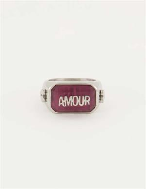 My Jewellery Roze statement ring amour MJ05075