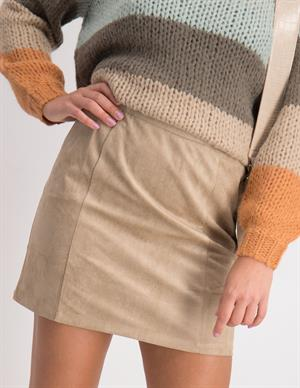 Nakd A-line Faux Suede Skirt 1018-004588