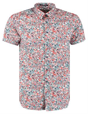 No Excess All Over Printed Satin Short Sleeve 95490307