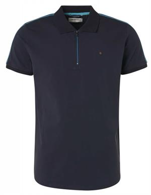 No Excess Polo, S/Sl, half zip, stretch, tape 96370510