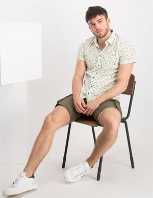No Excess Shirt Short Sleeve All Over Printed 11420304