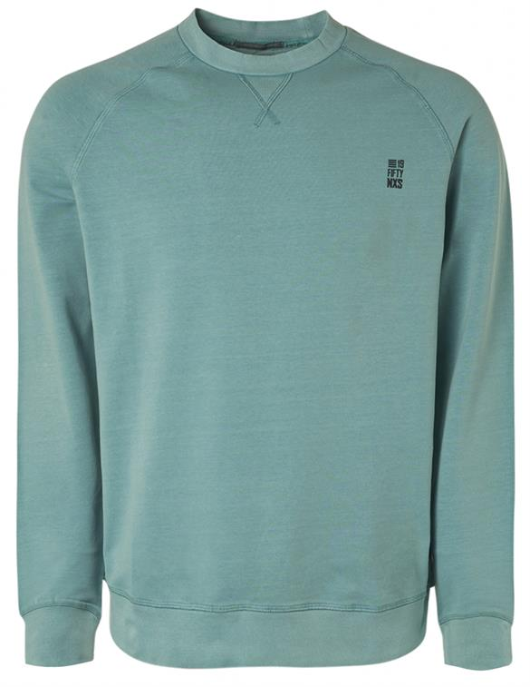 No Excess Sweater Crewneck Stone Washed 11180280