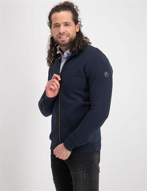 No Excess Sweater Full Zip Double Layer Jacqu 97100817