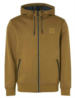 No Excess Sweater Full Zipper Hooded Double F 12100901