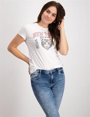 Only ONLCOLLEEN LIFE FIT S/S TOP BOX JRS 15245199