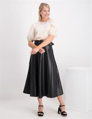 Only ONQKALI FAUX LEATHER MIDI SKIRT OTW 15210964