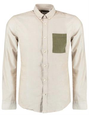 ONLY & SONS ONSALVARO LIFE LS CONTRAST OXFORD S 22018974