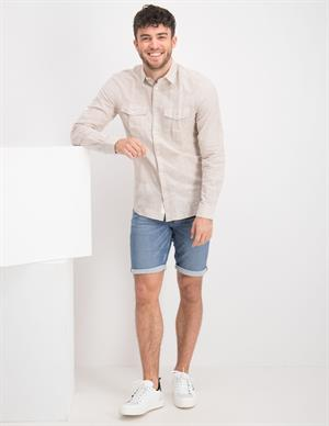 ONLY & SONS ONSCAIDEN LS POCKET LINEN SHIRT 22018861