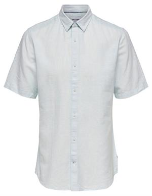 ONLY & SONS onsCAIDEN SS LINEN SHIRT RE 22009885