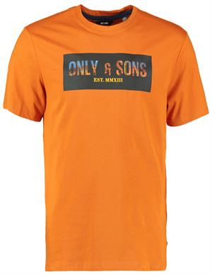ONLY & SONS ONSMONO LIFE REG SS LOGO TEE 22017506