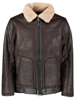 Petrol Jacket imitation shearling M-3000-JAC1140