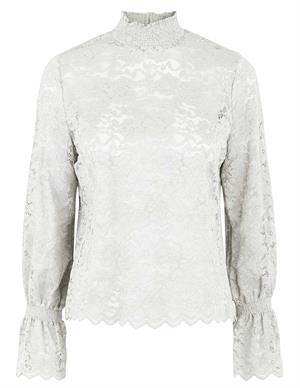 Pieces PCEMILY LS LACE TOP 17117616