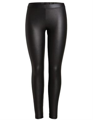 Pieces PCNEW SHINY MW SLIT LEGGINGS CP 17109428