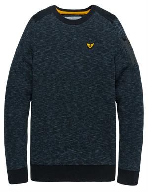 PME Legend Crewneck cotton mouline knit PKW205305