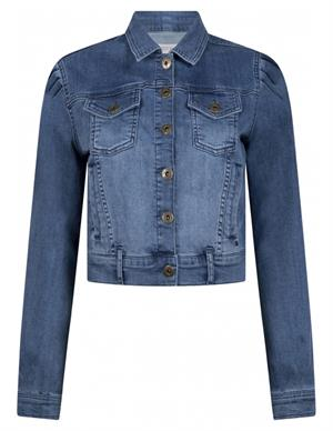 Tramontana Jacket Denim Balloon Sleeve D04-98-801