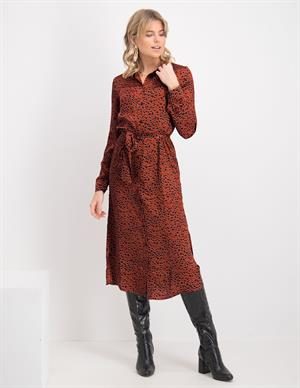 Vila VIRAMDI L/S SHIRT DRESS/OFW 14066663